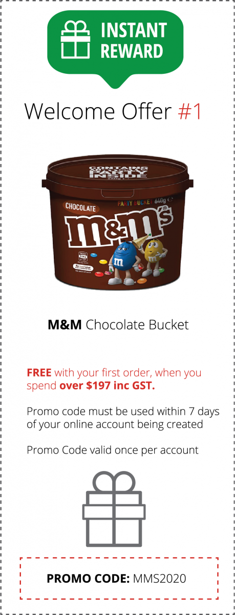 M&M Welcome Offer