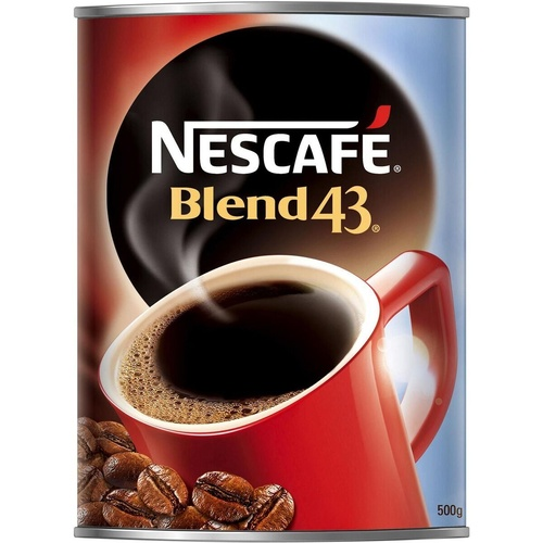 NESCAFE BLEND 43 COFFEE 500gm Tin