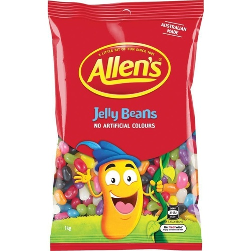 ALLENS CONFECTIONERY Jelly Beans 1kg