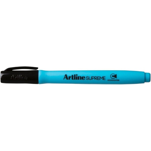 ARTLINE SUPREME HIGHLIGHTER Chisel Nib Blue Pack of 12