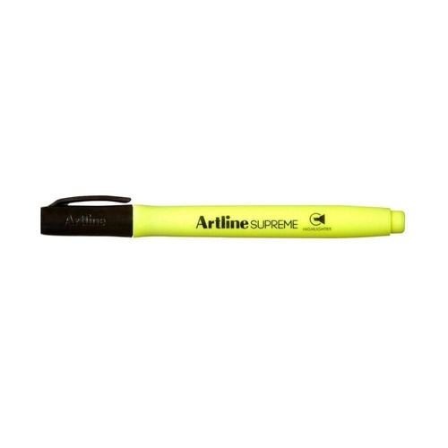ARTLINE SUPREME HIGHLIGHTER Chisel Nib Yellow