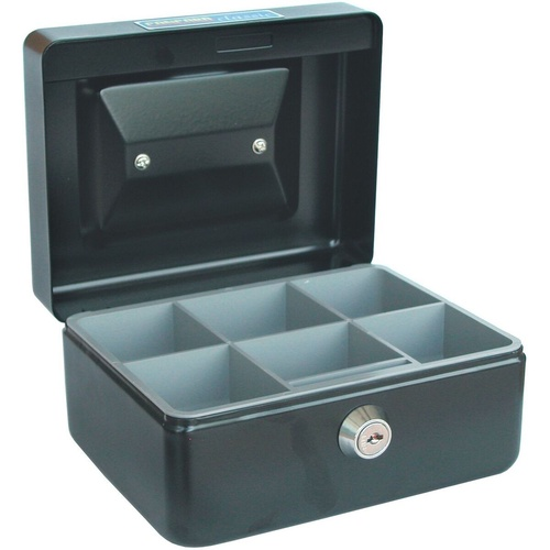 CONCORD CLASSIC CASH BOX No.6 152x118x80mm Black