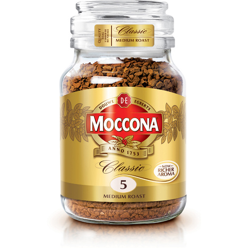 MOCCONA CLASSIC MEDIUM ROAST INSTANT COFFEE 400g Jar