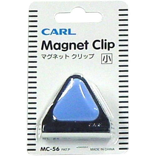 CARL MC56 MAGNETIC CLIP Blue 45mm Capacity