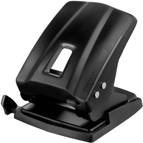 MAPED ESSENTIALS 2 HOLE PUNCH 45 Sheet Capacity Black