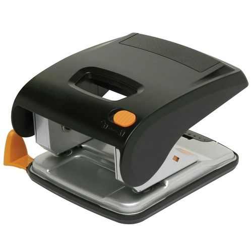 MARBIG LOW FORCE 2 HOLE PUNCH 30 Sheet Black