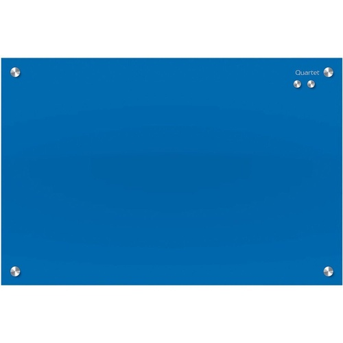 QUARTET INFINITY GLASS BOARD 450x600mm Memo Blue