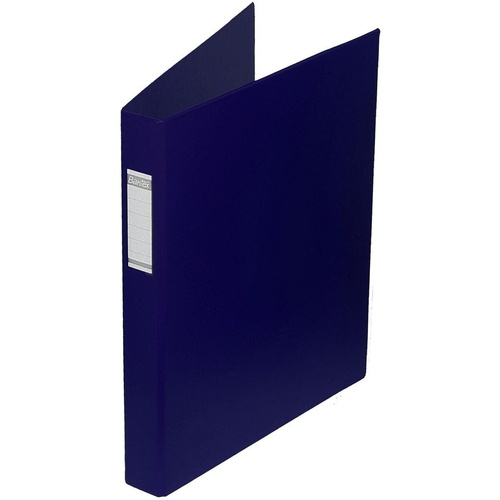 BANTEX PVC BINDERS A3 3D Ring 38mm Portrait Blue