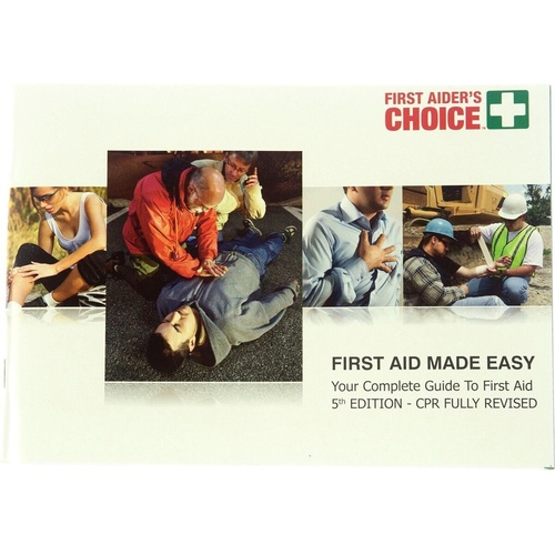 TRAFALGAR FIRST AID MANUAL 'First Aid Made Easy'