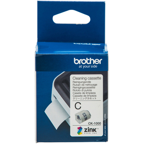 BROTHER CK-1000 GENUINE CLEANING CASSETTE ROLL For VC-500W Label and Photo Printers 50mm x 2m