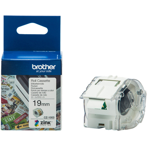 BROTHER CZ-1003 GENUINE CASSETTE ROLL 19mm x 5m