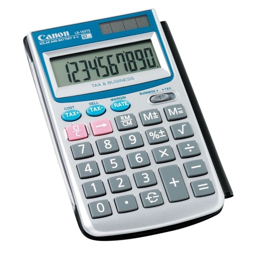 CANON CALCULATOR LS153TS 10 Digit Tax Pocket