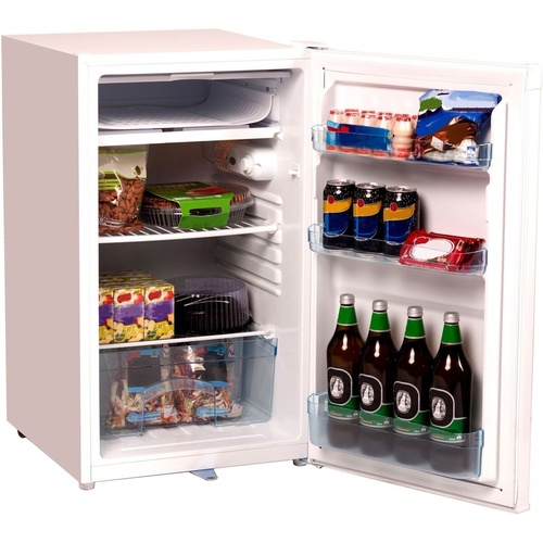 NERO BAR FRIDGE & FREEZER 125L White