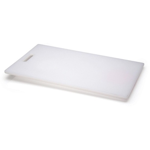 CHOPPING BOARD 300mmx235mm Plastic White