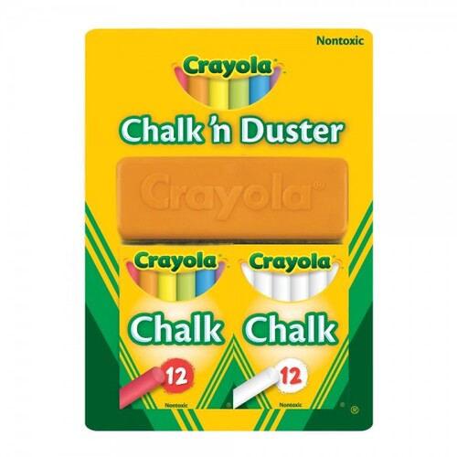 Crayola Chalk and Duster Set