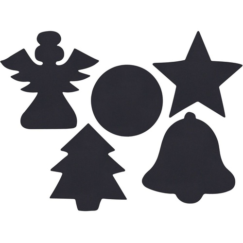 ZART CHRISTMAS SHAPES Pre-cut Pack of 30