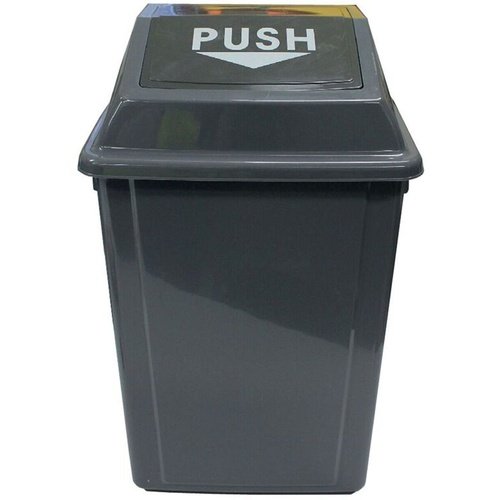 CLEANLINK RUBBISH BIN With Bullet Lid 25 Litre Grey