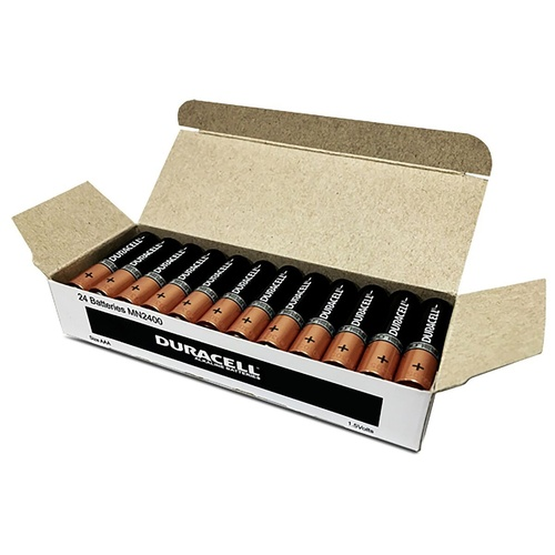 DURACELL COPPERTOP BATTERY AAA Bulk Pack of 24