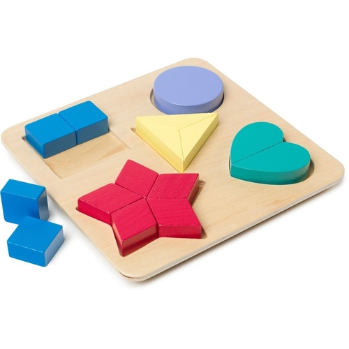 EDVANTAGE COLOUR & SHAPE- Puzzle Board