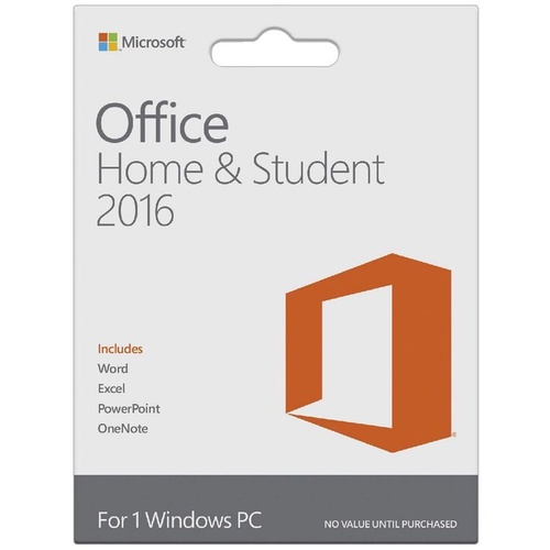 MICROSOFT OFFICE Home and Student