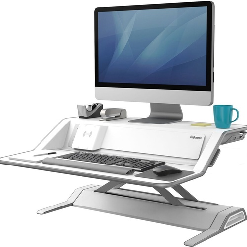 FELLOWES LOTUS DX WHITE Sit-Stand Workstation