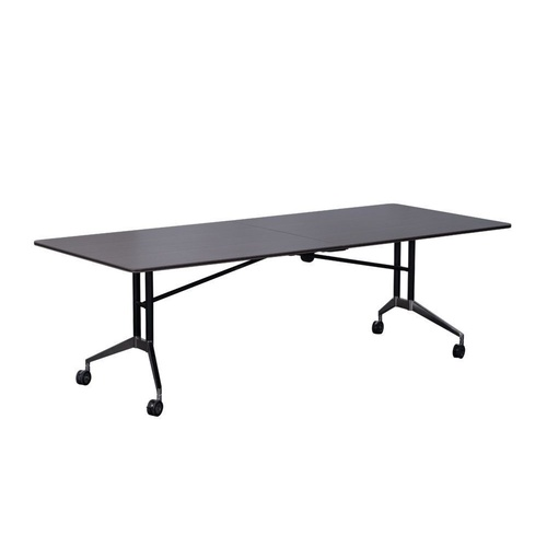 RAPIDLINE RAPID EDGE FOLDING TABLE 743mmH 1000mm Top Width 2400 Top Length Drift Wood Top