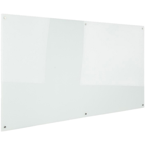 RAPIDLINE GLASSBOARD W2100mm x D15mm x H1200mm Transparent White