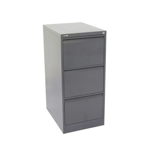GO 3 DRAWER FILING CABINET H1016xw460xd620mm Graph Ripple