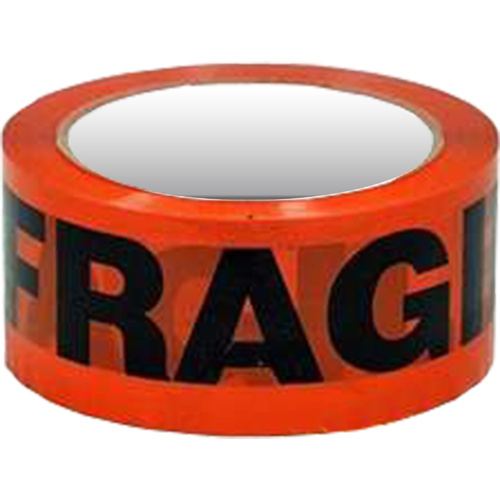 FROMM FRAGILE TAPE 48mm x 66m Red/ Black