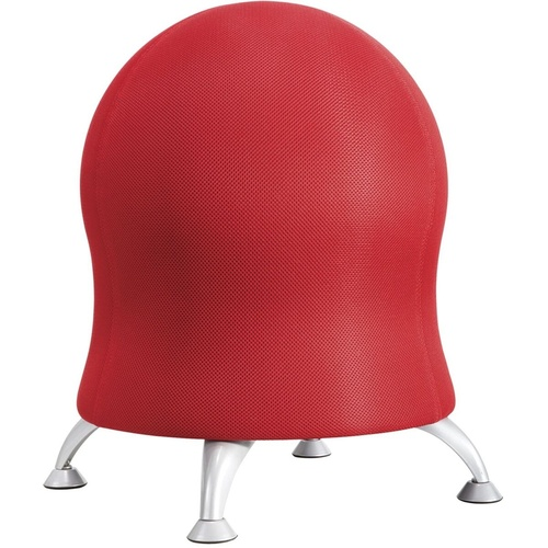 SAFCO ZENERGY BALL CHAIR Red Fabric