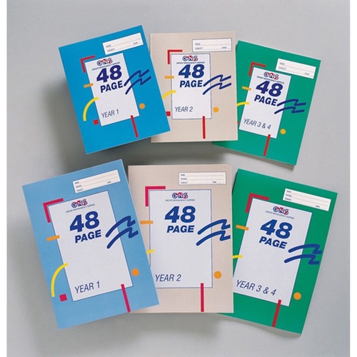 SOVEREIGN 225X175 EXERCISE Books Year 2 Ruled 48pg
