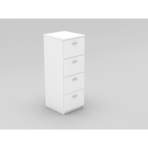 OM FILING CABINET W468 x D510 x H1320mm White