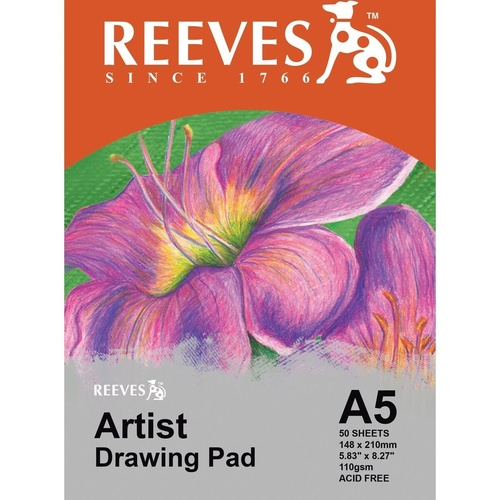 REEVES DRAWING PAD A5