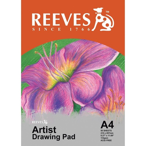REEVES DRAWING PAD A4