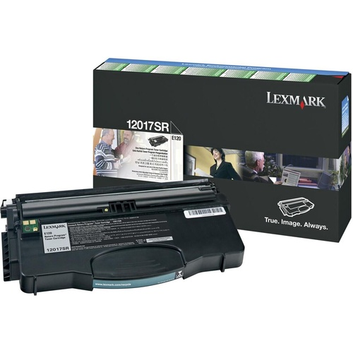 LEXMARK 12017SR GENUINE PREBATE Black Toner Cartridge 2,000 pages