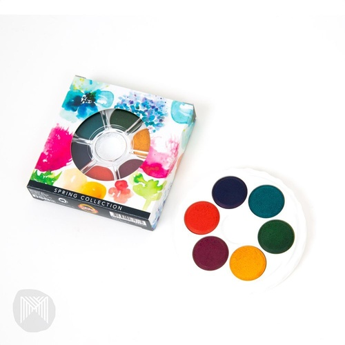 MICADOR FOR ARTISTS BRILLIANT WATERCOLOUR DISC Spring