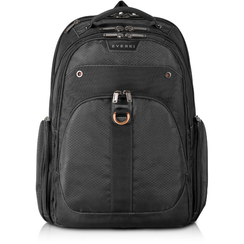 EVERKI ATLAS TRAVEL FRIENDLY LAPTOP BACKPACK 13-inch to 17.3-inch Adaptable Compartment Black