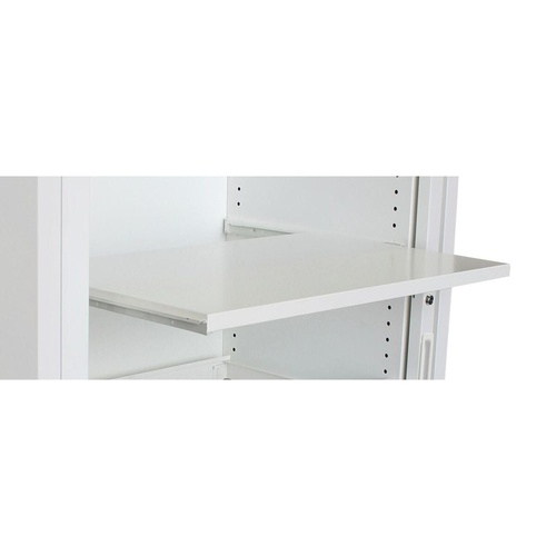 STEELCO REFERENCE SHELF PULL OUT W1200mm White Satin