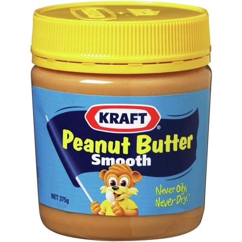 KRAFT PEANUT BUTTER Smooth 375gm