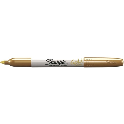 SHARPIE METALLIC MARKER FINE POINT PERMANENT GOLD