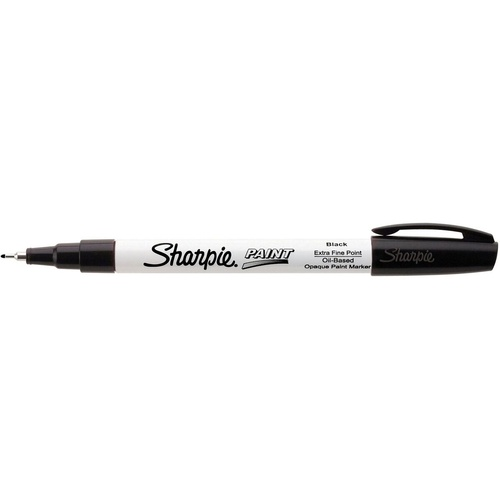 SHARPIE PAINT MARKER Xtra Fine 0.4mm Black