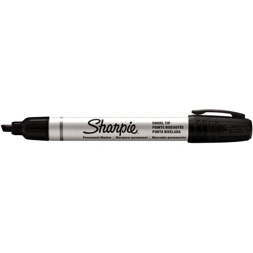 SHARPIE ALUMINIUM PERMANENT MARKER CHISEL POINT BLACK