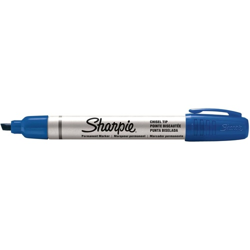 SHARPIE ALUMINIUM PERMANENT MARKER CHISEL POINT BLUE