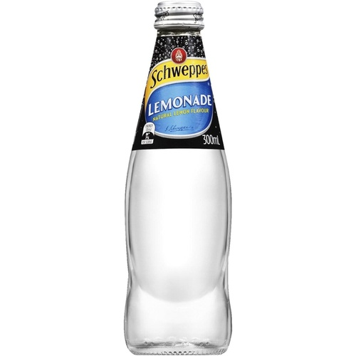 SCHWEPPES LEMONADE 300ml - Pack 24