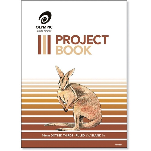 OLYMPIC 524 PROJECT BOOKS 24Page 14mm Dotted 3RD s