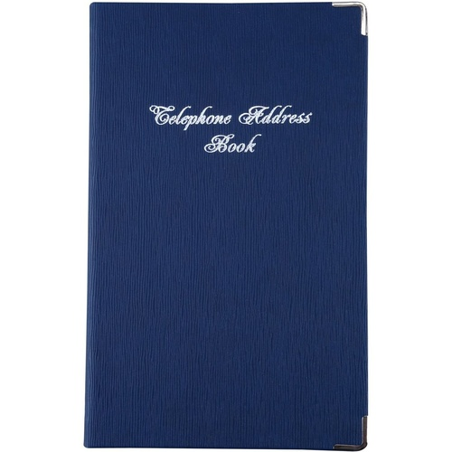 ADDRESS BOOK Navy Blue