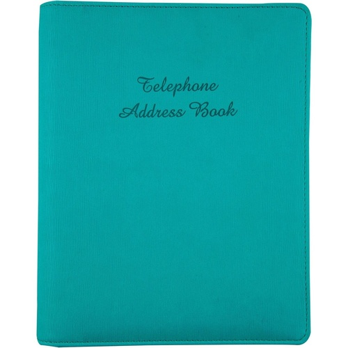 ADDRESS BINDER Teal 6 Ring